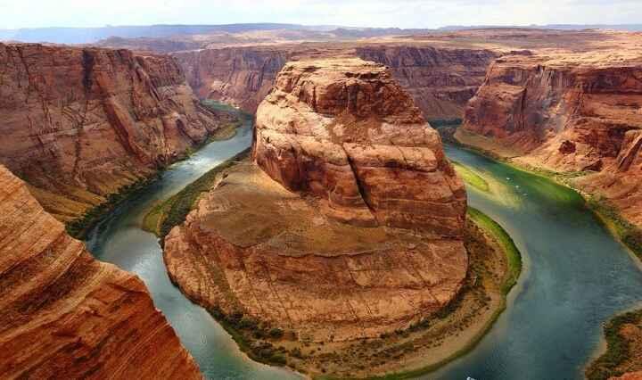 Horseshoe bend, Grand Canyon