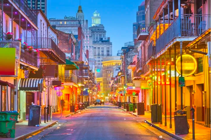Downtown New Orleans, Louisiana
