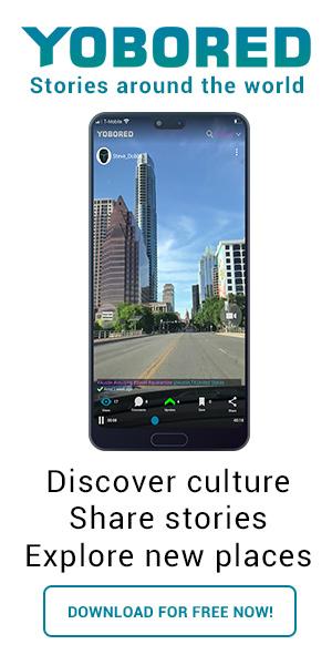 Yobored Mobile app display