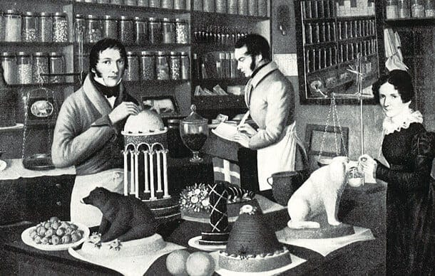 Francois-Louis Cailler, who opened and operated the first mechanized chocolate factory in 1819 in Vevey, in Switzerland's French canton.
