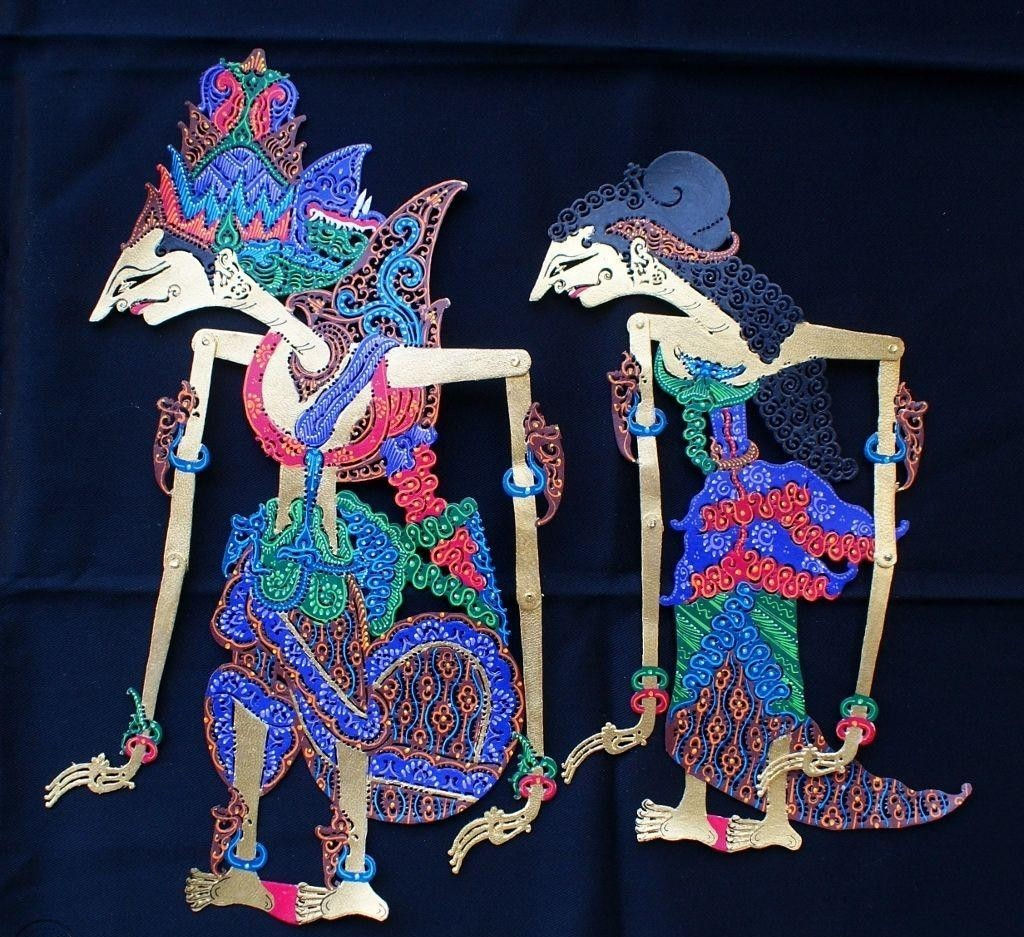 ram and sita shadow puppets