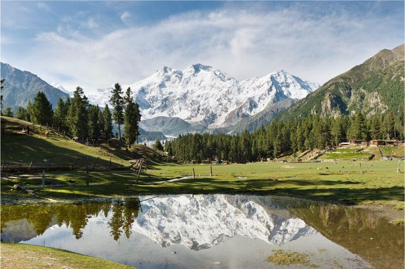 The picturesque Fairy Meadows.