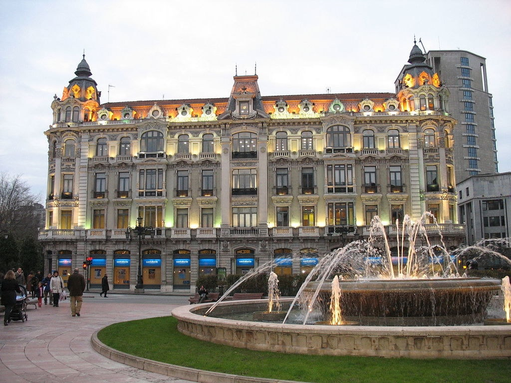 Downton Oviedo square in Spain, the capital of Asturias where opportunities meet success.