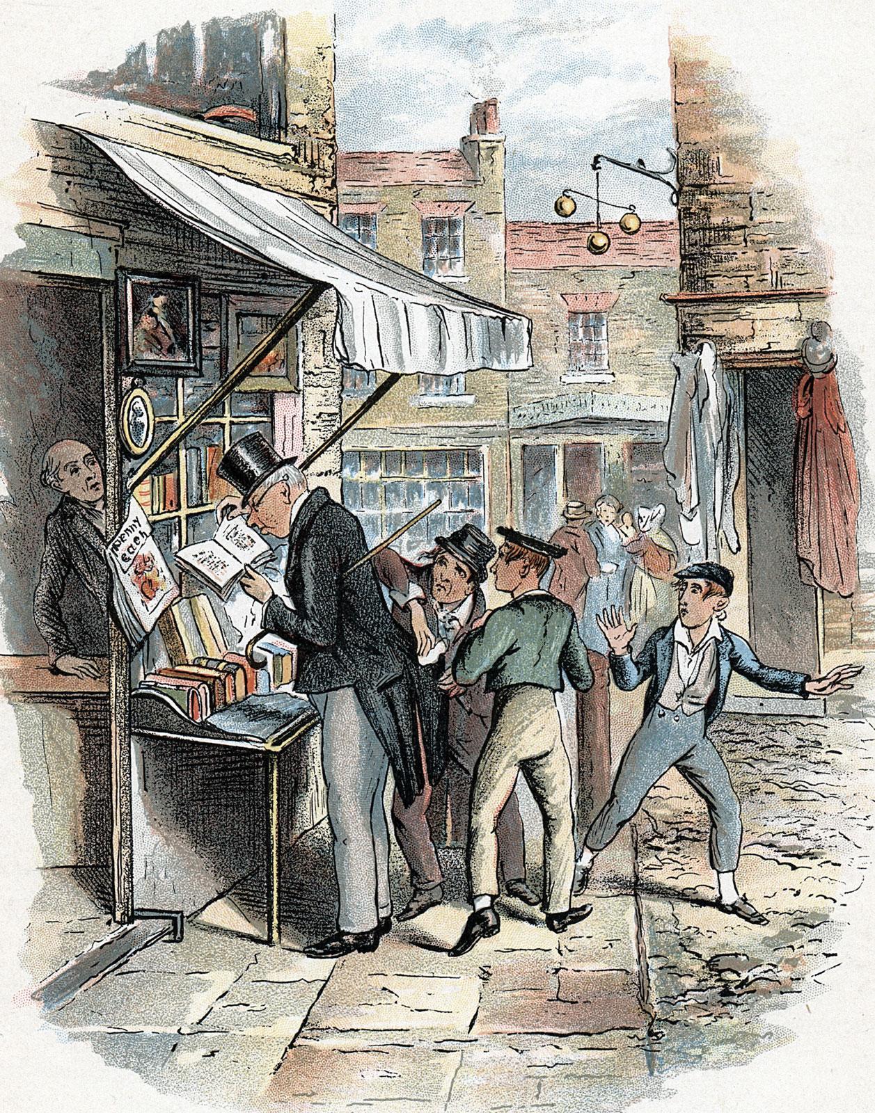 Illustration made for Oliver Twist