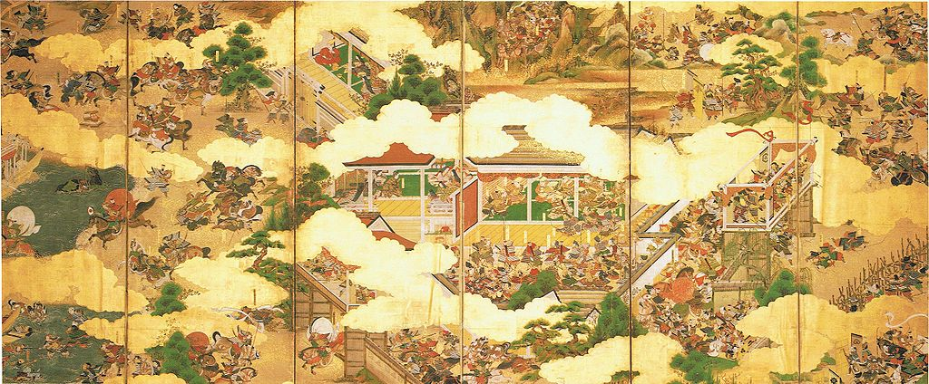 A depiction of the Heian period through art