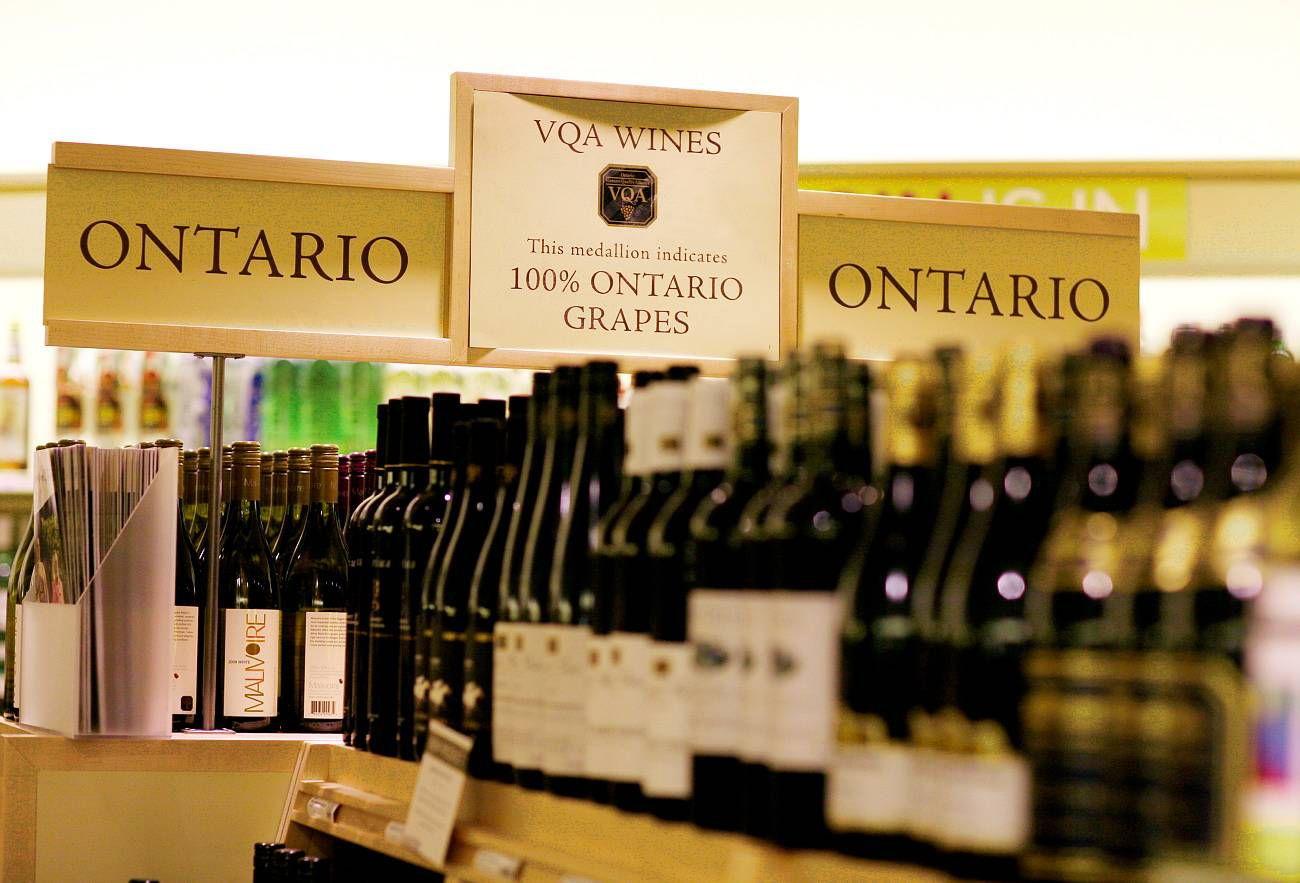 Image of wine aisle