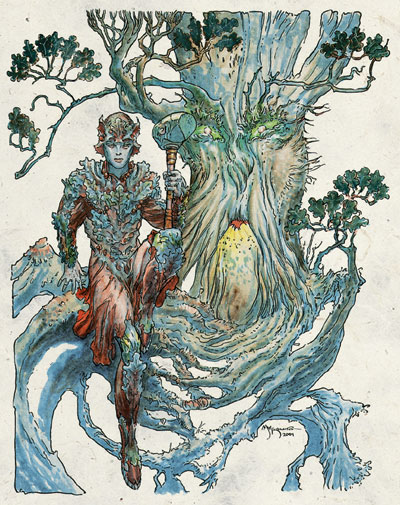 Silvanus, the forest god.