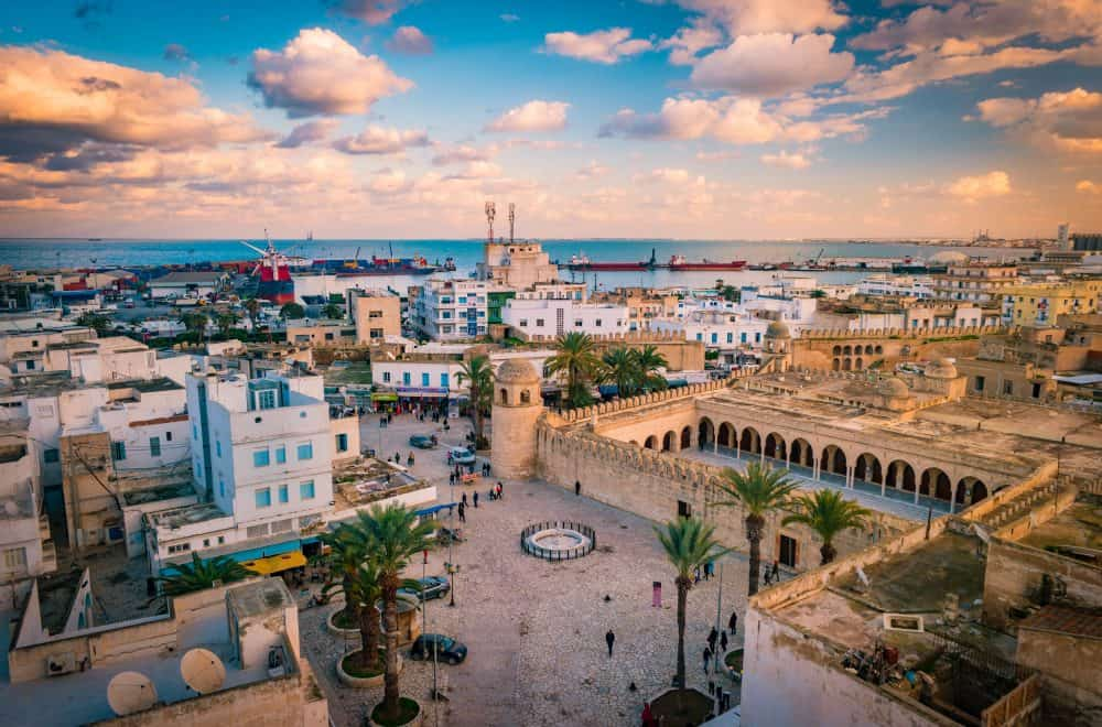 A Skyline of Tunis - Tunisia