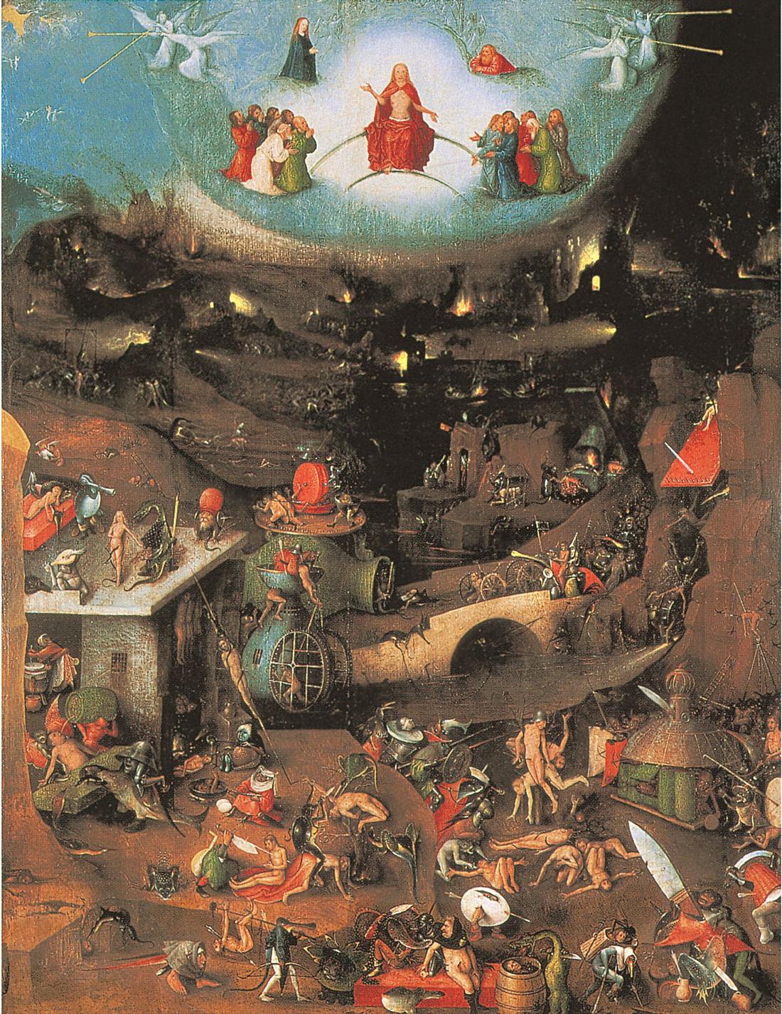 Hieronymus Bosch's The Last Judgement.