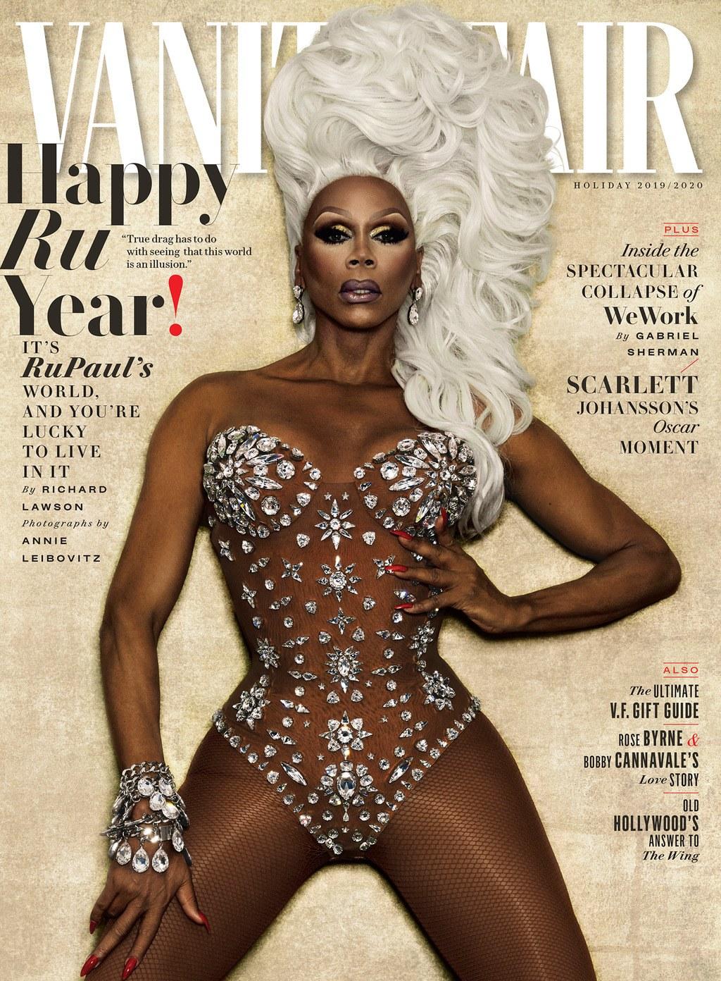 Rupaul on the cover of Vanity Fair
