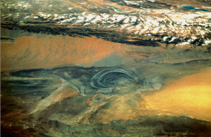 Basin of the Lop Nur Desert