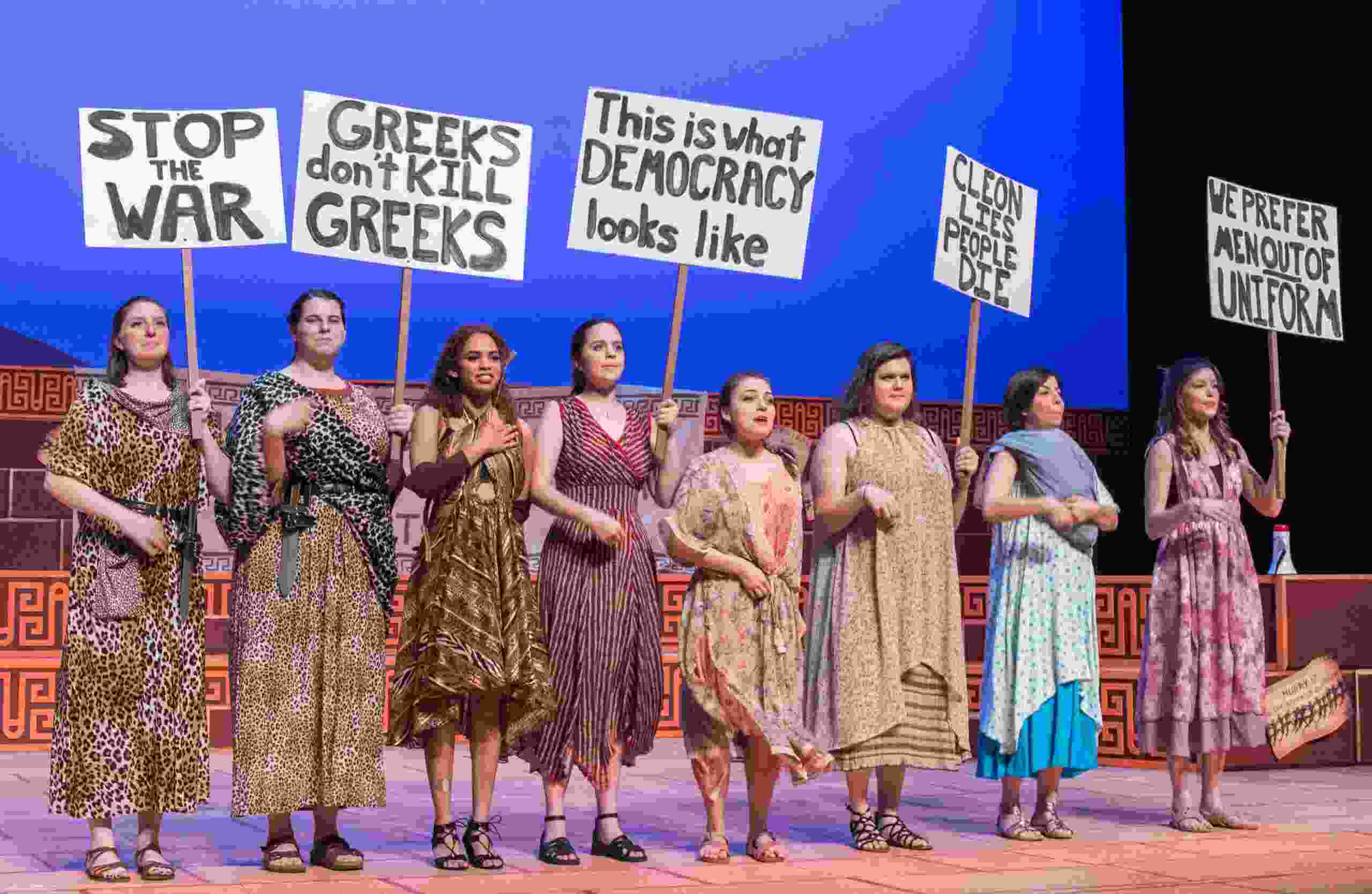 Lysistrata, adapted for the modern stage at Trinity University