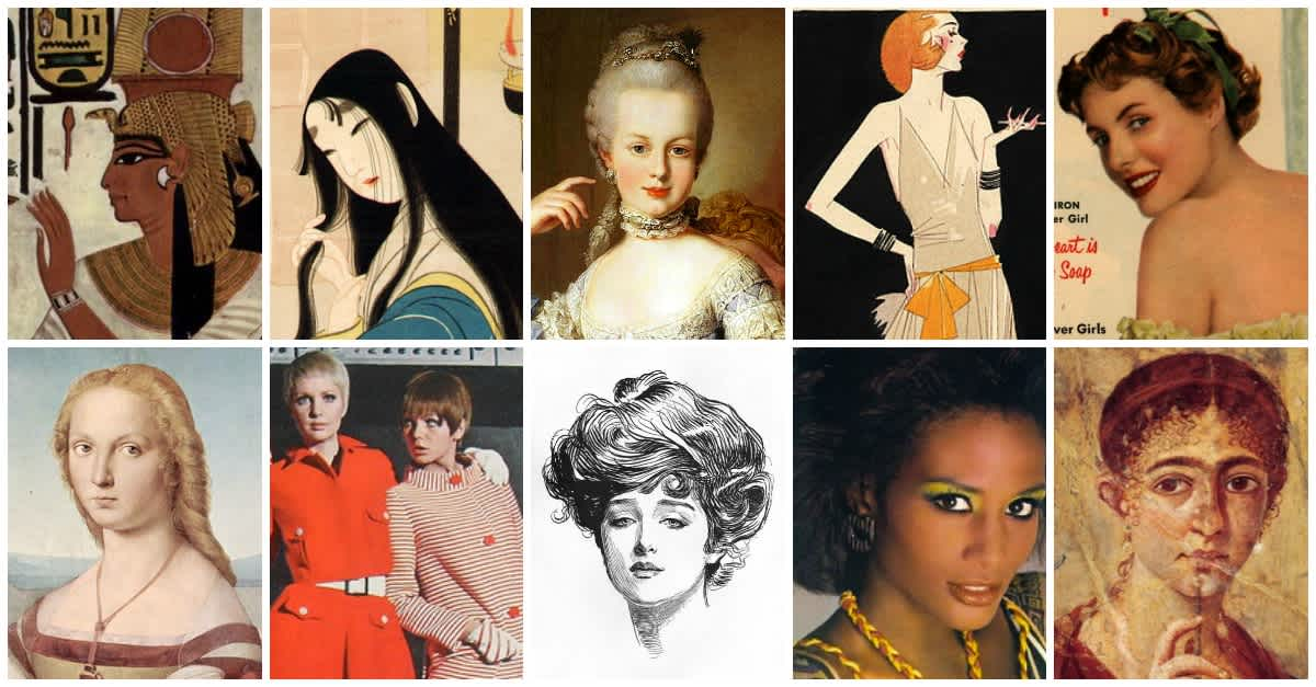 A look at the different beauty standards through history