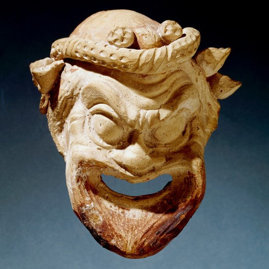 Picture of a Greek comedy mask