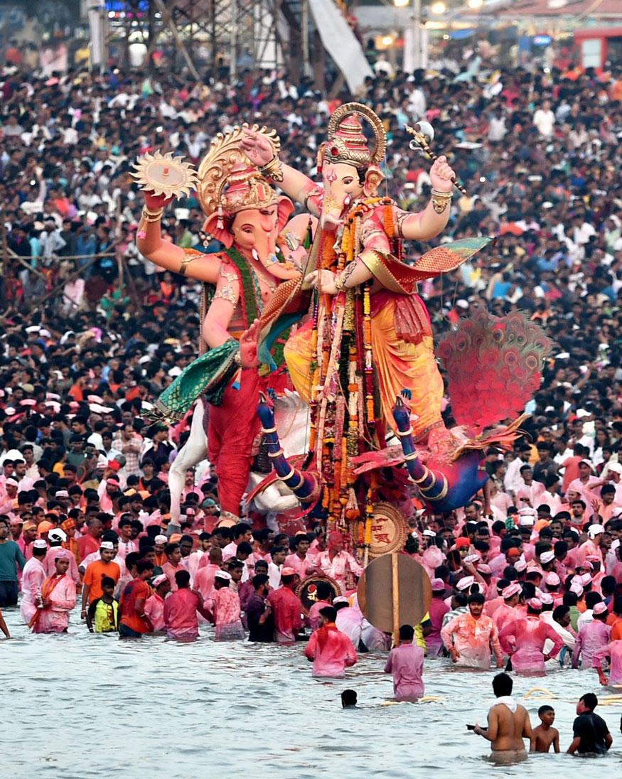 Ganesh Visarjana on Ganesha Charturthi end date