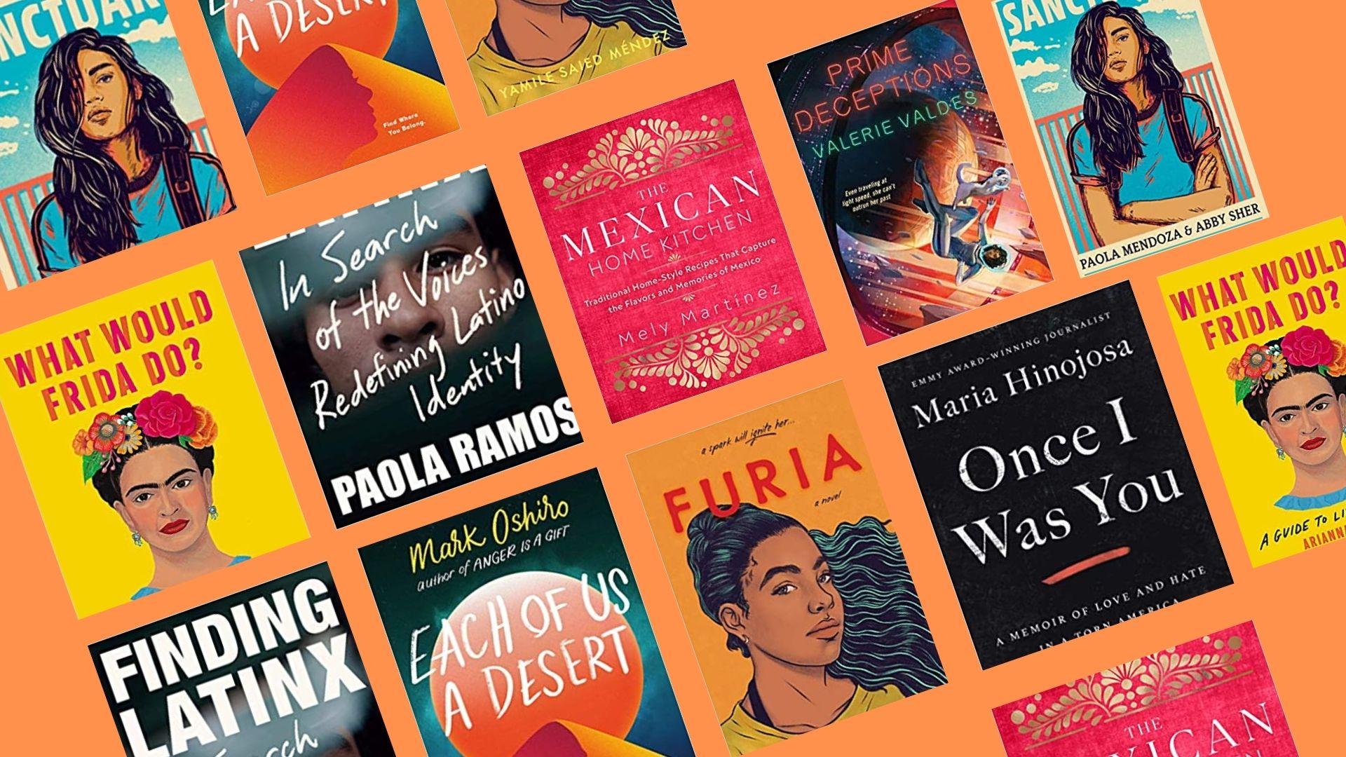 Books by Latino writers