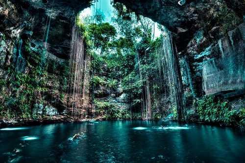 Feature image of Yucatan Cenote; photo credit: spotmydive.com