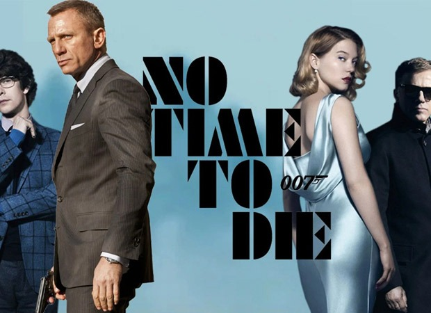 James Bond No Time To Die cover