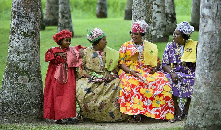 women wearing the koto