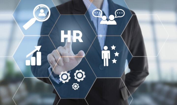 A futuristic HR button to intiate processes