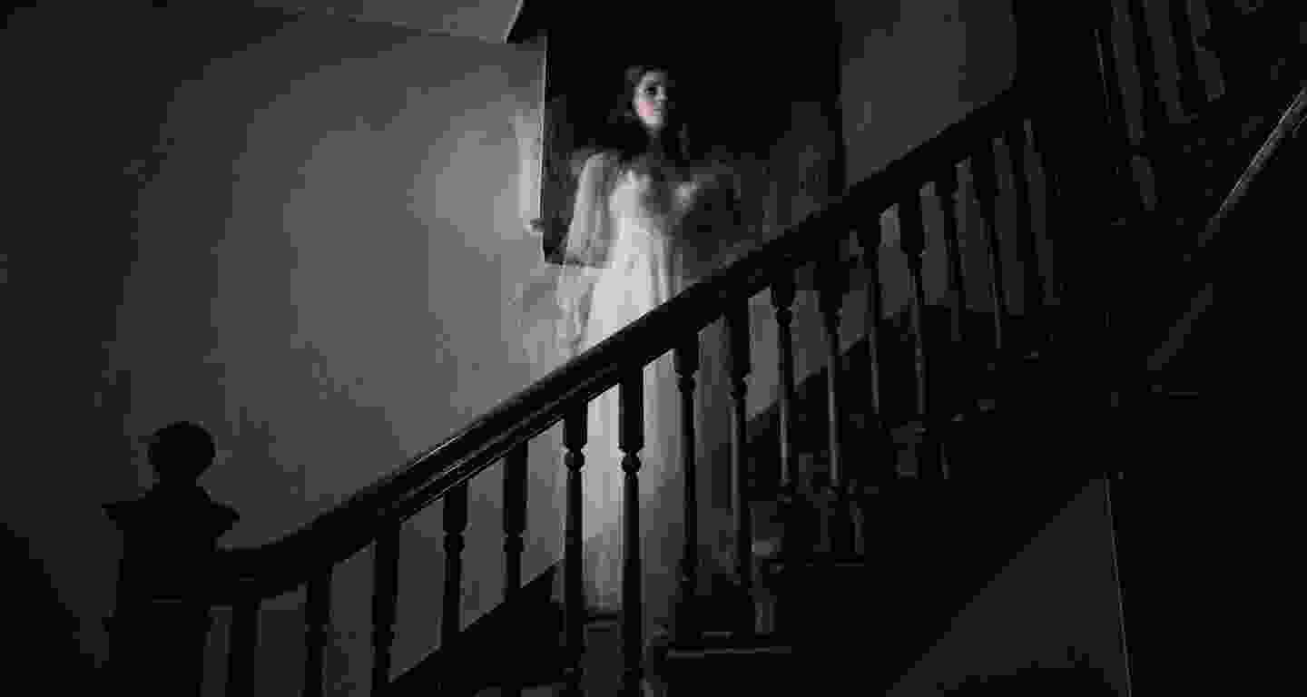 Ghostly apparition of a woman
