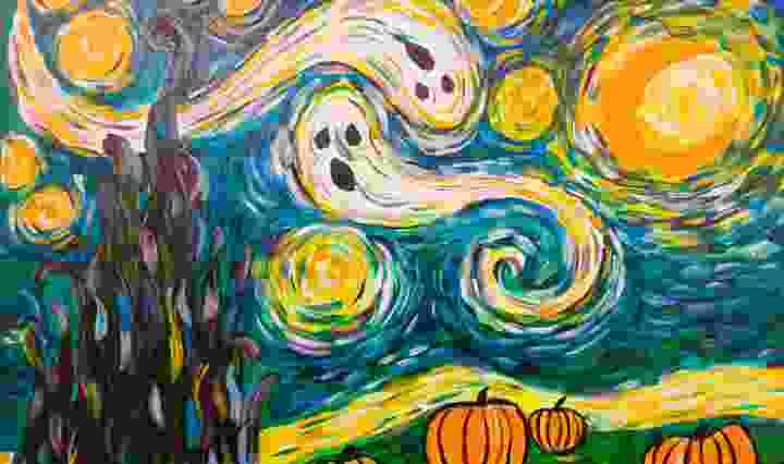 Creative Halloween activities - painting